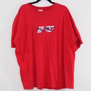 Vintage 90s Nautica Men Xxl Short Sleeve Shirt Red